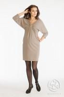 Suknelė nėščiai CHANTAL cappuccino / M