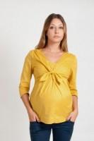 Marškiniai nėščiai - maitinančiai ELIZE geltona