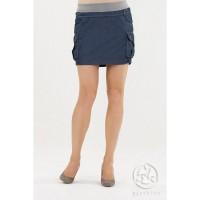 Lengvo džinsinio audinio mini sijonas AMARELLA / M