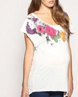 Marškinėliai nėščiai ROSES / M