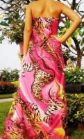 Suknelė nėštukei - maitinančiai BUTTERFLY M