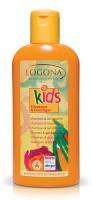 Logona Kids šampūnas ir dušo gelis vaikučiams, 200ml