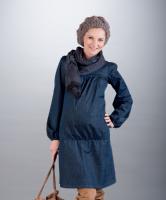 Džinsinė tunika - suknelė nėštukei ELLA