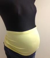 Medvilninė pilvo juosta MINKS / geltona M