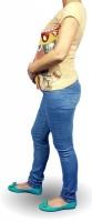 Tamprūs džinsai nėštukei slim ELIT Blue