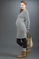 Megzta suknelė nėščiai CLAUDIA
