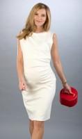 Proginė suknelė nėštukei JAQUELINE Cream XS/S
