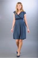 Suknelė nėščiai - maitinančiai NADINE Navy