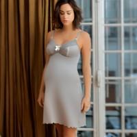 Stilingi naktiniai su integruota maitinimo liemenėle LISA Grey