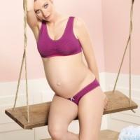 Besiūlės kelnaitės nėštukei SEAMLESS pink / Anita, Vokietija