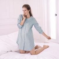 Medvilniniai naktiniai susagstomi marškinukai nėštukei - maitinančiai HENNI XXL / Anita, Vokietija