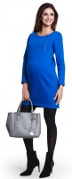 Itin šilta suknelė nėščiai - maitinančiai SALSA mėlyna