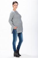 Storas šiltas megztinis nėštukei MORGANE