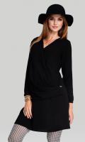 Stilinga suknelė nėščiai - maitinančiai So CHIC Black / S M L