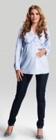Marškiniai nėščiai - maitinančiai DELICIA Blue