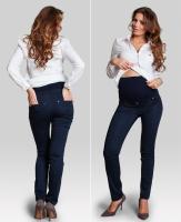 Elegantiškos kelnės nėščiai SLIM Navy / XS S