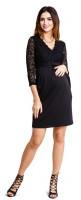 Suknelė nėščiai - maitinančiai HYPNOTIC Black
