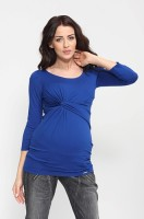 Palaidinė nėščiai CARMEN mėlyna, pilka