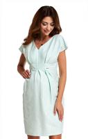 Proginė suknelė nėščiai - maitinančiai CRYSTAL mint
