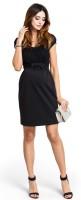 Proginė suknelė nėščiai - maitinančiai MAGIC Black
