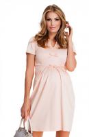 Elegantiška suknelė nėštukei PRINCESS pudre