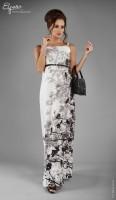 Ilga elegantiška suknelė nėščiai IRIS (tinka ir po nėštumo) / M