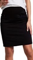 Pieštuko silueto sijonas nėščiai GLAM Black