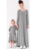 MAXI suknelė nėščiai ir po gimdymo LONG ELECTRIC