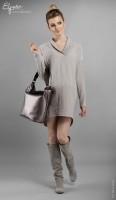 Šilta tunika - suknelė nėščiai ir maitinančiai TAYLOR