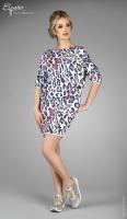 Stilinga suknelė tunika nėščiai ir po gimdymo MEGI
