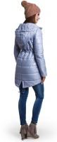 Stilinga universali žieminė striukė nėščiai SPACE Grey (pritaikyta dėvėti ir po nėštumo) S/M