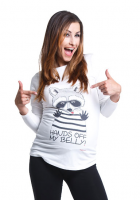 Nuotaikingi marškinėliai nėščioms HANDS OFF