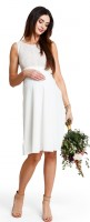 Proginė suknelė aukštesnėms nėštukėms - maitinančioms LOVIE Cream / XXS XS