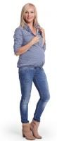 Marškiniai nėščiai - maitinančiai DAISY / XXL