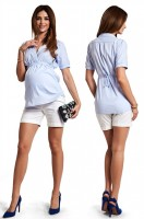 Marškiniai nėščiai DELIKA light blue