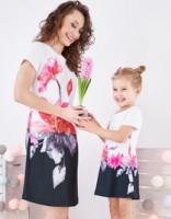 Stilinga suknelė nėštukei JASMIN (tinka ir po nėštumo)