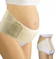 Medicininis elastinis nėščiosios diržas sustiprinta nugarėle KIRA Comfort