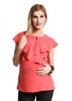Marškiniai nėščiai ir maitinančiai FRILLY MIST
