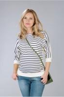 Palaidinė nėščiai ir po nėštumo  FRANCIS WHITE STRIPE