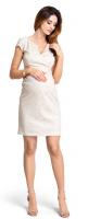 Proginė suknelė nėščiai ir maitinančiai  IMPRESSION Beige
