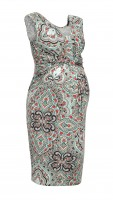 Suknelė nėščiai - maitinančiai LOIS Turkus pattern