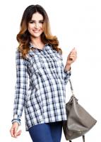 Marškiniai nėščiai - maitinančiai DAKOTA Blue