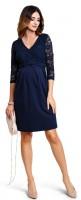 Proginė suknelė nėščiai - maitinančiai VOGUE Navy