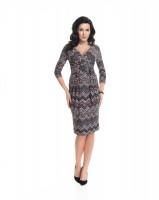 Suknelė nėščiai - maitinančiai HOLLY NEW patterned