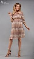 Elegantiška puošni suknelė nėščiai LEILA  (tinka ir maitinančiai)
