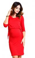 Stilinga suknelė nėščiai - maitinančiai LADY IN RED
