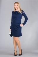 Elegantiška suknelė nėštukei DANIELA Navy / M