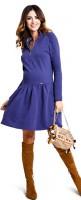 Šilta medvilninė suknelė nėščiai - maitinančiai ZOYA Ultra