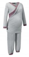 Pižama nėščiai ir maitinančiai SILVA GREY