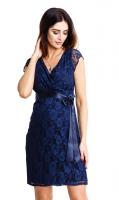 Elegantiška suknelė nėščiai ir maitinančiai LOVELY NAVY